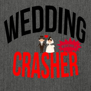 Wedding crasher - Shoulder Bag made from recycled material