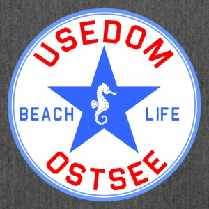 Usedom_Seepferd - Schultertasche aus Recycling-Material