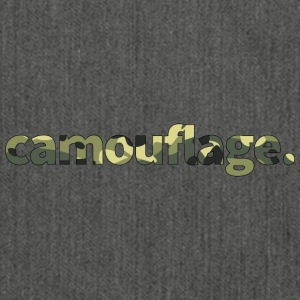 Camouflage - Schultertasche aus Recycling-Material
