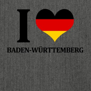 I love Baden Wuerttemberg - Shoulder Bag made from recycled material
