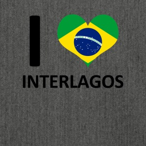 I love Interlagos - Shoulder Bag made from recycled material