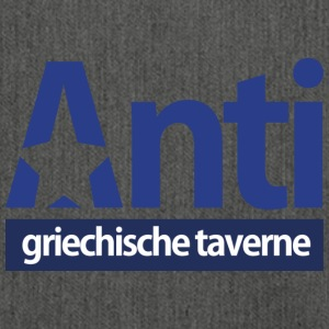 Anti Star Logo Blue version - Schultertasche aus Recycling-Material