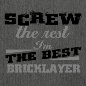 Screw the rest bricklayer - Schultertasche aus Recycling-Material