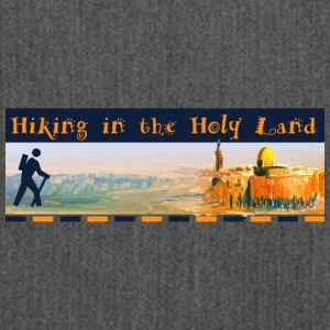 Hiking in the Holy Land - Sac bandoulière 100 % recyclé