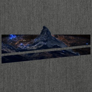 Mountains in space - Shoulder Bag made from recycled material
