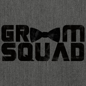 JGA / Junggesellenabschied: Groom Squad - Schultertasche aus Recycling-Material
