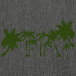 Palm trees - Shoulder Bag made from recycled material