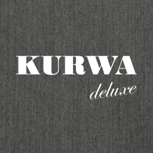 Kurwa Deluxe - Polish swear word gift - Shoulder Bag made from recycled material