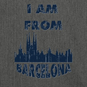 Barcelona I am from - Shoulder Bag made from recycled material