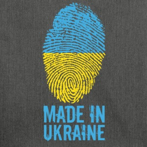 Made in Ukraine / Made in Ukraine Україна - Shoulder Bag made from recycled material