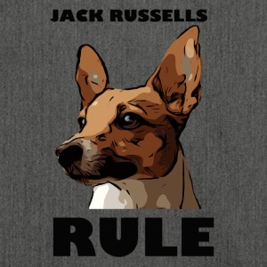 Jack russels rule - Shoulder Bag made from recycled material