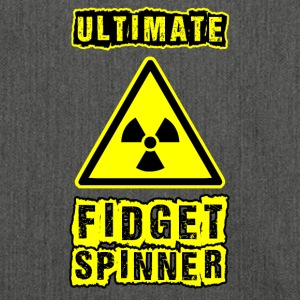 Fidget Spinner idea birthday gift t-shirt - Shoulder Bag made from recycled material
