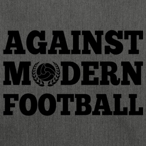Against Modern Football - Bandolera de material reciclado
