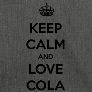 Cola. The feeling of an icy cold cola / gift - Shoulder Bag made from recycled material