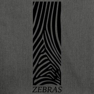 zebras - Shoulder Bag made from recycled material