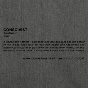 Conscivist Definition - Shoulder Bag made from recycled material