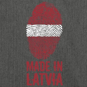 Made in Latvia / Made in Latvia Latvija - Shoulder Bag made from recycled material