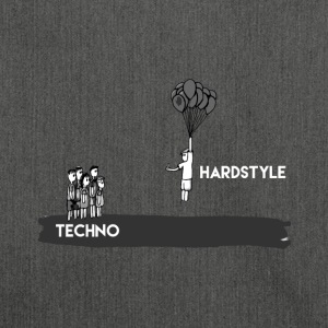 Hardstyle T-Shirt & Hoody - Shoulder Bag made from recycled material