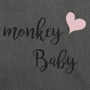 Monkey baby - Shoulder Bag made from recycled material