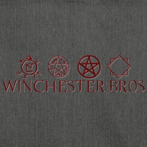 Winchester_Bros - Schultertasche aus Recycling-Material