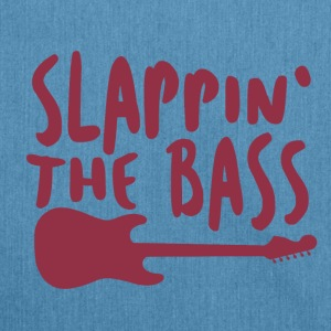 Slappin The Bass - Music - Shoulder Bag made from recycled material