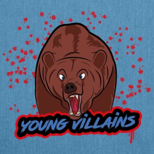 orso young villains - Borsa in materiale riciclato