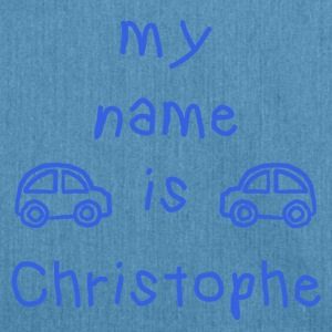 CHRISTOPHE MEIN NAME - Schultertasche aus Recycling-Material