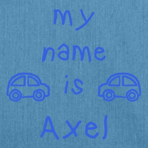 AXEL MEIN NAME - Schultertasche aus Recycling-Material