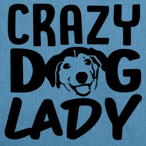 ++ Carzy Dog Lady ++ - Borsa in materiale riciclato