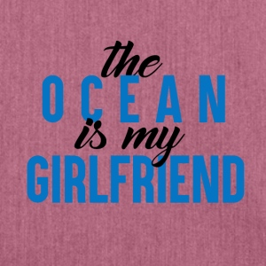 The Ocean is my GF - Shoulder Bag made from recycled material