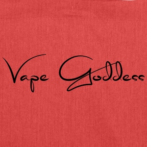 Vape Goddess - Steamer motif - Shoulder Bag made from recycled material