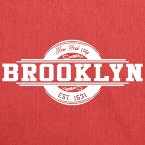 Brooklyn New York City EST. Mode 1631 - Sac bandoulière 100 % recyclé