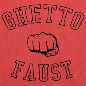 Ghetto Faust Gangster Gang Fist Fight 1c - Shoulder Bag made from recycled material