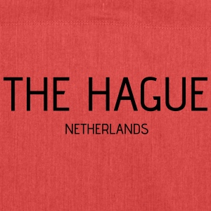 the hague - Schultertasche aus Recycling-Material