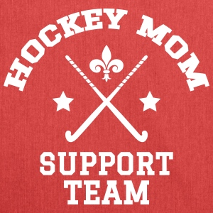 Hockey Mom - Support Team - Axelväska av återvinningsmaterial