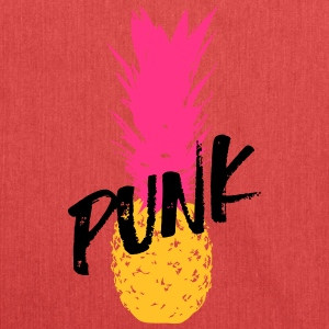 Punk ananas / Punk Pineapple / Punk Apple - Skuldertaske af recycling-material