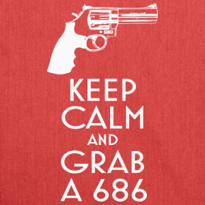Keep Calm and Grab un t-shirt revolver 686 - Sac bandoulière 100 % recyclé