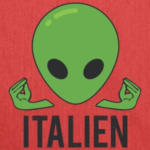 Italian Italy Alien - Shoulder Bag made from recycled material