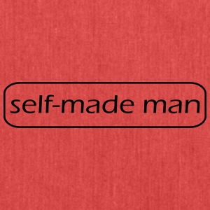 self made man - Axelväska av återvinningsmaterial