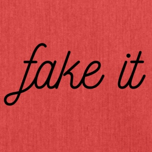 FAKE IT - Schoudertas van gerecycled materiaal