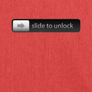 Slide to unlock Smartphone Slider for unlocking - Shoulder Bag made from recycled material