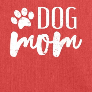Dog Mom - Schultertasche aus Recycling-Material