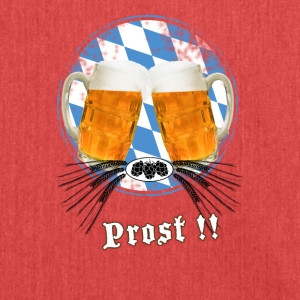 Oktoberfest beer garden humpen beer flag prost lo - Shoulder Bag made from recycled material