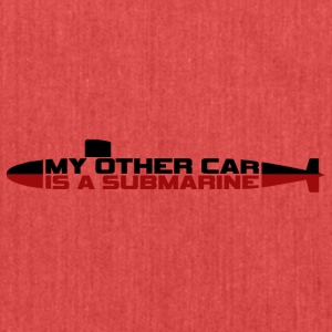 My other car is a Submarine! - Shoulder Bag made from recycled material