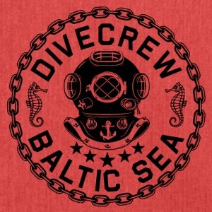 Divecrew Logo - Shoulder Bag made from recycled material