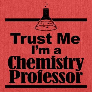 trust me i am a chemistry professor - Schultertasche aus Recycling-Material