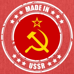 Made in USSR - Skuldertaske af recycling-material