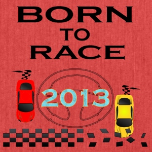 Born To Race Racing Race Driving 2013 - Shoulder Bag made from recycled material