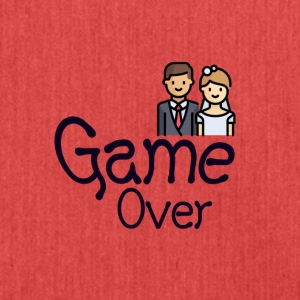 Game Over - Schoudertas van gerecycled materiaal