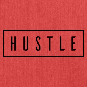 Hustle Box Logo - Borsa in materiale riciclato